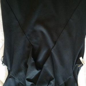 Talbots classic black dress